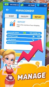 Idle Shopping Mall MOD APK (Unlimited Money) Download 2