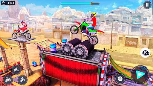 Bike Stunt Racer 3d Bike Racing Games - Bike Games apkslow screenshots 12