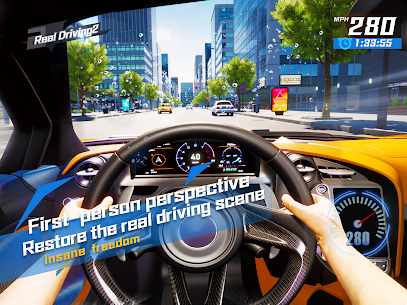Real Driving 2 Ultimate Car Simulator MOD APK Unlimited Money 1