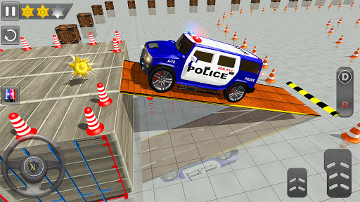 Advance Police Parking - Smart Prado Games modavailable screenshots 14