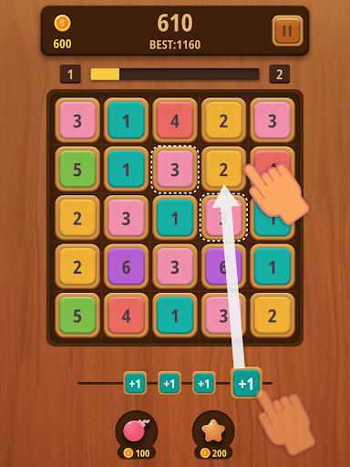 Mergezilla - Number Puzzle Apkfinish screenshots 5