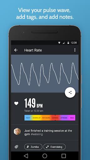 Instant Heart Rate: HR Monitor & Pulse Checker apktram screenshots 3