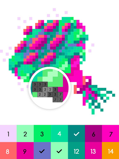 No.Color u2013 Color by Number screenshots 4