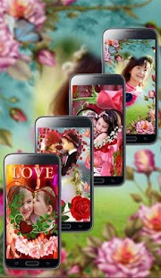 Love Photo Editor: Love Photo Frames 2021 Collage Screenshot
