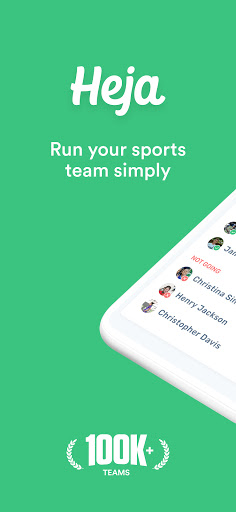 Heja — Sports Team Communication  screenshots 1