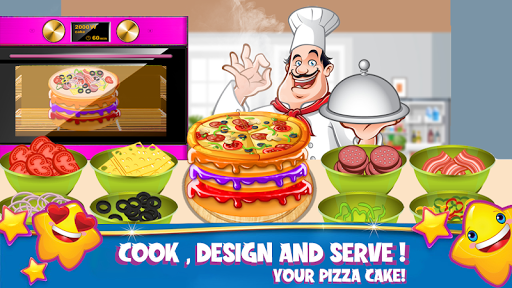 Cake Pizza Factory : Wedding Cake Cooking Game 1.0.3 screenshots 1