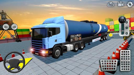 Cargo Truck Parking Simulator 2021 3D Truck Games  screenshots 1
