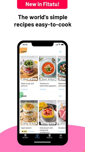Fitatu Calorie Counter - Free Weight Loss Tracker 2.69.1 Screenshots 3