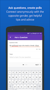 GirlsAskGuys - Your Questions, Their Opinions Screenshot