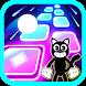 Cartoon Cat Hop Tiles Edm Rush Games - Androidアプリ