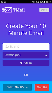 Temp Mail – 10 Minute Email Pro Free 4