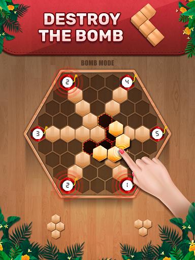 Wooden 100 Block Puzzle - Classic Wood Brain Game screenshots 5