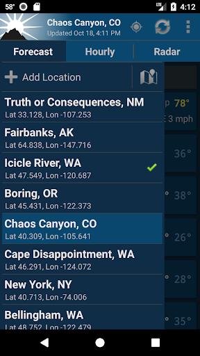 NOAA Weather Unofficial 2.10.6 Screenshots 6