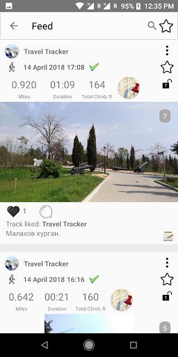 Travel Tracker Pro - GPS tracker screen 1