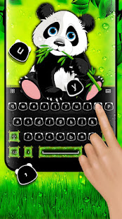 Cute Panda - Keyboard Theme