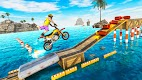screenshot of Racing Moto Bike Stunt Impossible Track Game