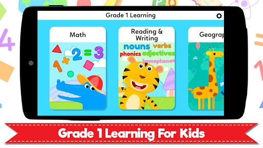 Grade 1 Learning Games for Kids - First Grade App  screenshots 1