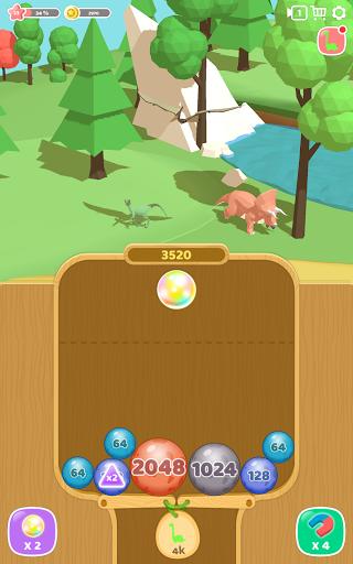Dino 2048: Merge Jurassic World 1.0.9 screenshots 12