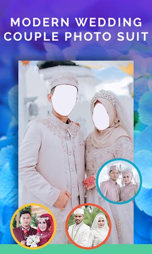 Modern Muslim Wedding Couple Photo Suit 1.3 Screenshots 2