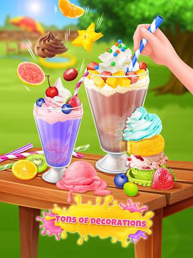Ice Cream Soda - Summer Sweet Icy Drink Maker screenshots 7