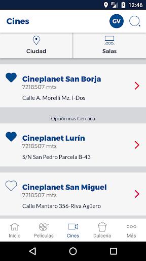 Cineplanet Peru00fa screenshots 1