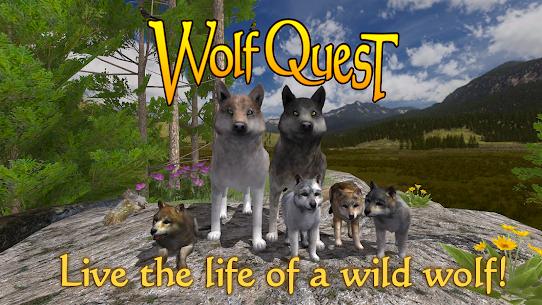 WolfQuest 2.7.399 MOD + APK + DATA Download 1