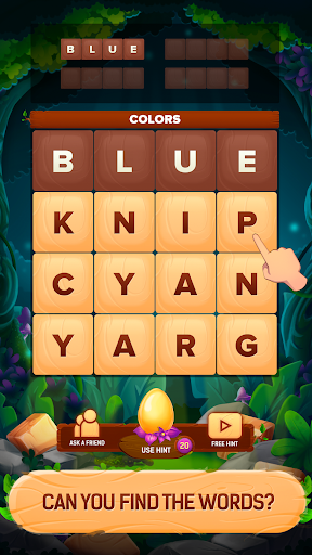 Word Dices. Word Puzzle Game. Word Search Game.  screenshots 1