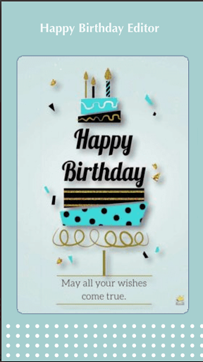 Birthday cake with name and photo - Birthday Song android2mod screenshots 1