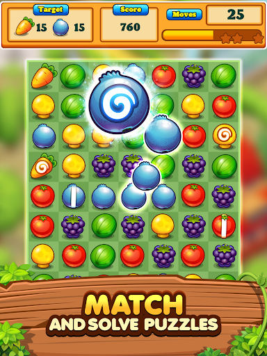 Garden Blast New 2020! Match 3 in a Row Games Free 2.1.4 screenshots 17