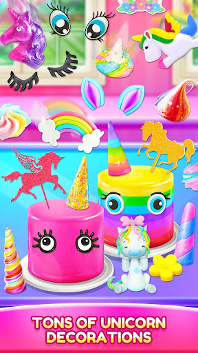Unicorn Food - Cake Bakery 2.1 Screenshots 5