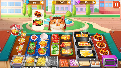 Breakfast Story: chef restaurant cooking games apkslow screenshots 3