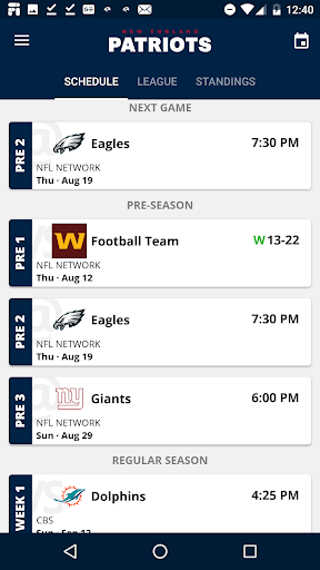 New England Patriots apktram screenshots 3