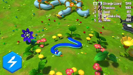 Snake Rivals - Fun Multiplayer io Snake Games Apkfinish screenshots 7