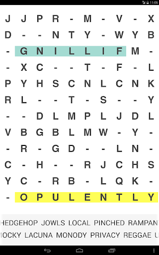 Missing Vowels Word Search apkpoly screenshots 3