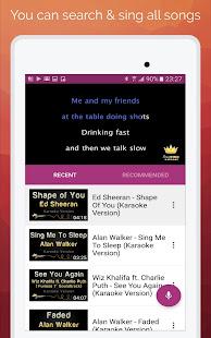 Karaoke: Sing & Record 8.4.1 Screenshots 5