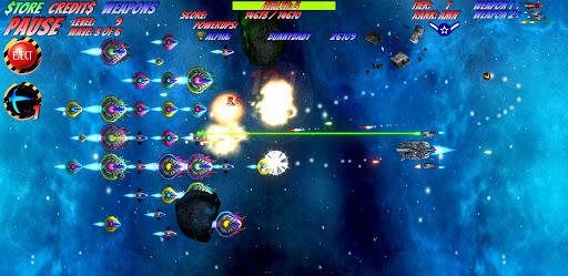 Space D-Fense - Space Invaders Arcade Shooter 7.32 screenshots 1