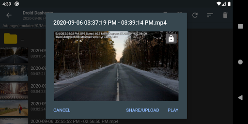 Droid Dashcam - Driving video recorder, BlackBox modavailable screenshots 5