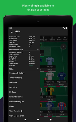 (FPL) Fantasy Football Manager for Premier League android2mod screenshots 9