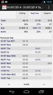 Time Recording – Timesheet App 5