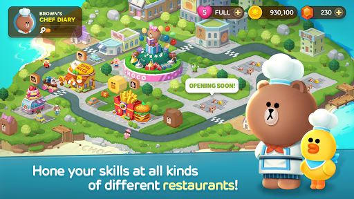 LINE CHEF Piske & Usagi Tie-Up On Now! apktram screenshots 5
