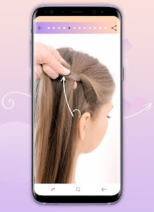 Hairstyles step by step 3