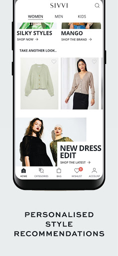 SIVVI Online Fashion Shopping modavailable screenshots 6