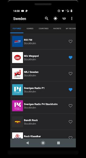 radio sweden screenshot 3