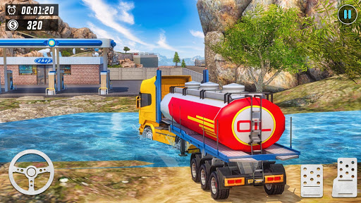 Offroad Oil Tanker Truck Simulator: Driving Games  screenshots 6
