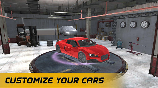 Télécharger Gratuit American Muscle Car Racing apk mod screenshots 2