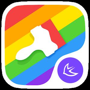 Colorful rainbow  theme