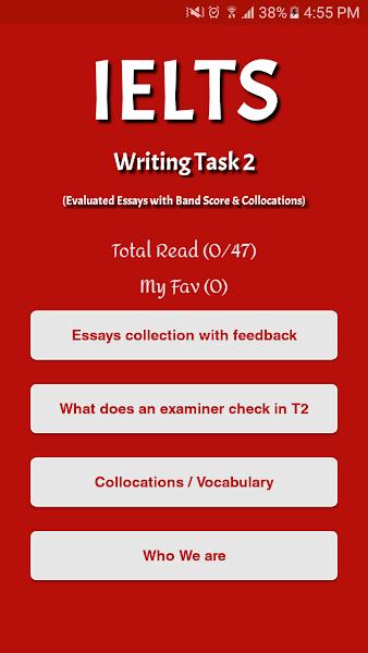 IELTS Essays with feedback