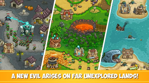 Kingdom Rush Frontiers - Tower Defense Game  screenshots 2