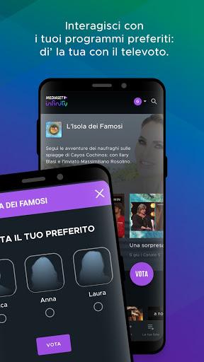 Mediaset Infinity TV apktram screenshots 3