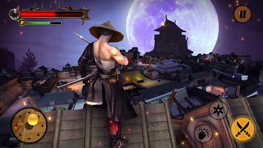 Ninja Assassin War 3D: Fighting Game  screenshots 1
